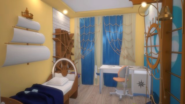 Квартира в Японском стиле «Королев»